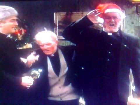 Father Ted - Best bits - Music what makes Jack stand up