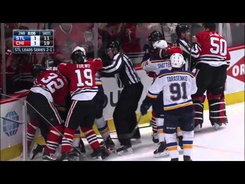 CDSF: St. Louis Blues vs Chicago Blackhawks Game 4 – Playoffs April 19 2016