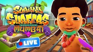 🔴 Subway Surfers World Tour 2018 - Mumbai Gameplay Livestream