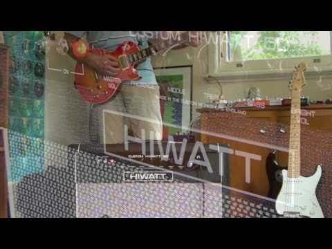 HIWATT Custom 50 SA212 Combo - General Demo (Les Paul) With And Without Effects