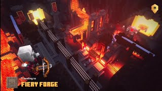 Minecraft Dungeons Gameplay    Fiery Forge    FPT Gaming