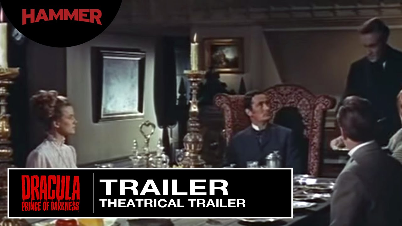 Dracula - Prince of Darkness / Original Theatrical Trailer (1966)