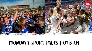 Epic Irish weekend | Laois upset Dublin | US WNT cash call | PL VAR news | Pogba