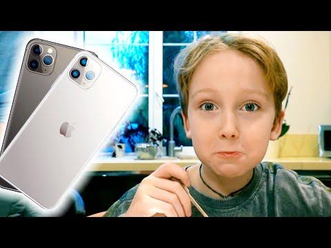 Купили ДВА новеньких IPHONE 11 pro ЧТО ДОСТАНЕТСЯ Илье? Изнанка влог