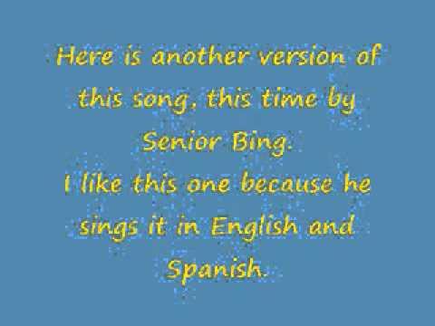 Bing Crosby- El Rancho Grande