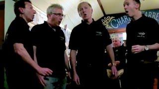 Barbershop Quartet from 4 Bars Later—Oh Shenandoah—at Charley Farrellys Apl 2016