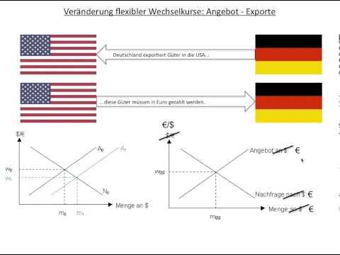 Flexible Wechselkurse, Wechselkurs Inkl. Übungen (Volkswirtschaftslehre VWL FOS / BOS)