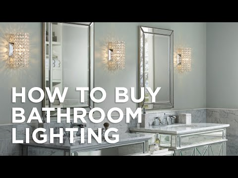 How To Buy Bathroom Lighting - Buying Guide - Lamps Plus