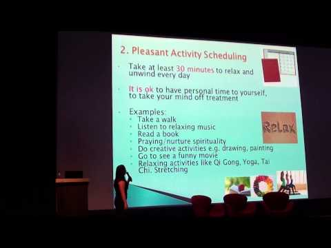 Singapore National Myeloma Forum 2015 - Talk by Psychologist Dr Joanne Chua (Part 1)