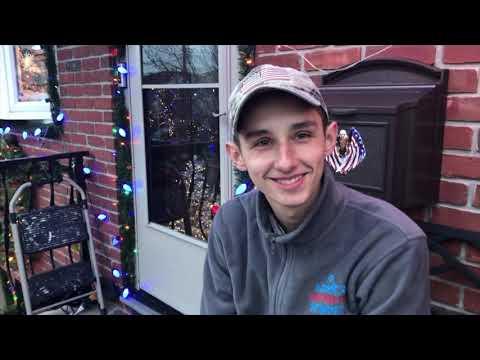 Neighborhood teen brings light to his neighbors