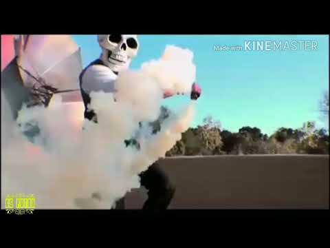 Mantap jiwa  aksi bomb asap | Dj akimilaku Aisyah Maimunah