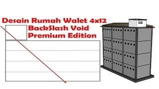 Desain RBW Back Slash Void Ukuran 4X12 Full Dokumenter