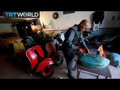 Libya on the Brink: Former army officer struggles as mechanic