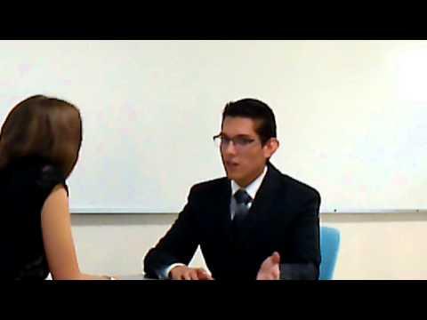 Job Interview - Public Speaking