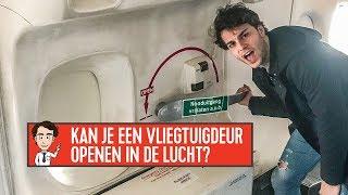 een vliegtuigdeur openen in de lucht? joost mag het weten