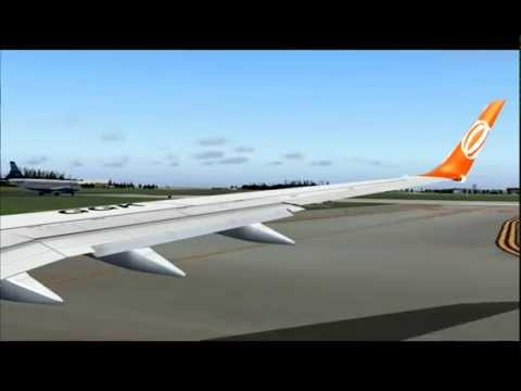 737-800 GOL ORLANDO - SANTO DOMINGO