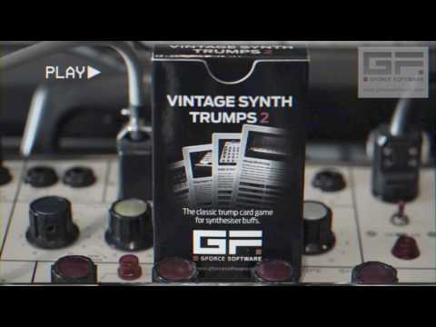 Vintage Synth Trumps 2 is the synth fan's ultimate card game