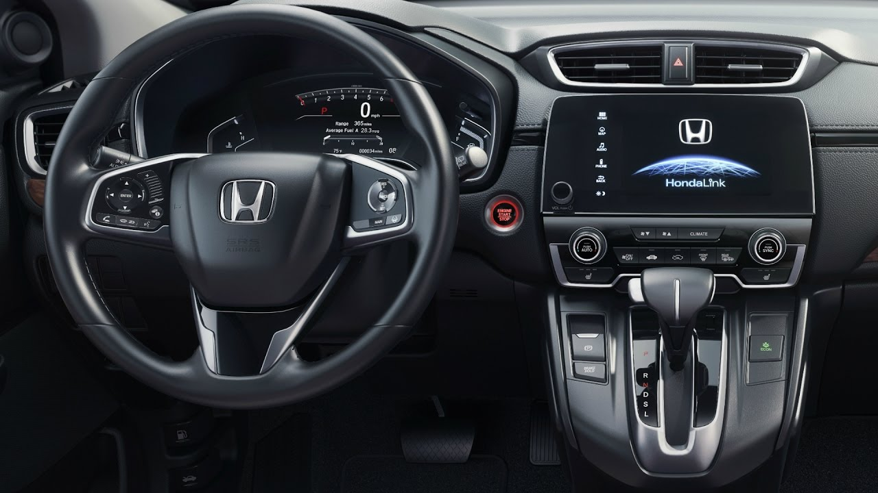 2017 honda cr v black interior youtube for Interior honda crv