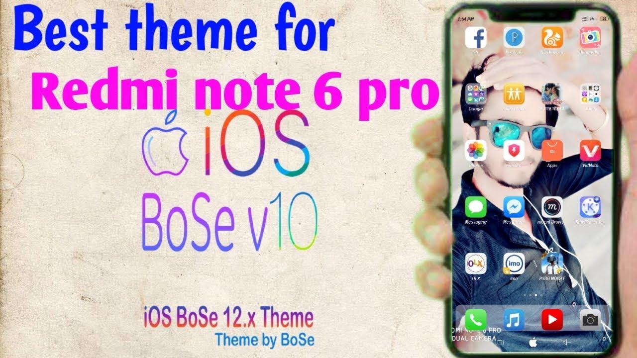 Ios Bose Theme