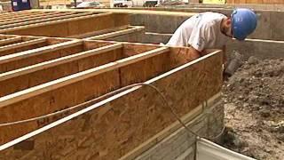 Minimizing Subfloor Construction Issues