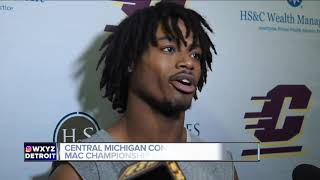 Central Michigan players 'can't wait' for MAC title shot at Ford Field