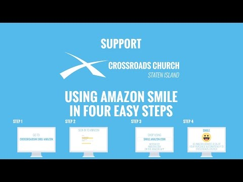 Use Amazon Smile To Support Crossroads Church