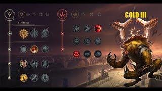 League of legends - Новые Руны: Варвик!/New Runes: Warwick #2