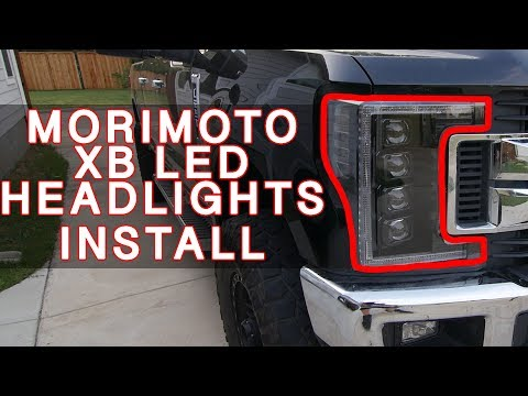 Must Have Morimoto XB LED Headlights for your 2017-2019 F250 SUPER DUTY!!!