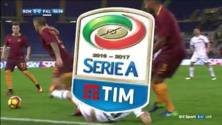 AS ROMA vs PALERMO (4 - 1) 1st half Full Match 23/10/2016
