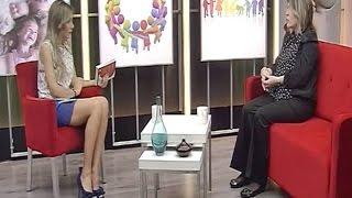 Sibel Arna Beautiful Turkish Tv Presenter 06.03.2013