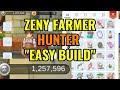 Zeny Farmer Hunter Trapper build!