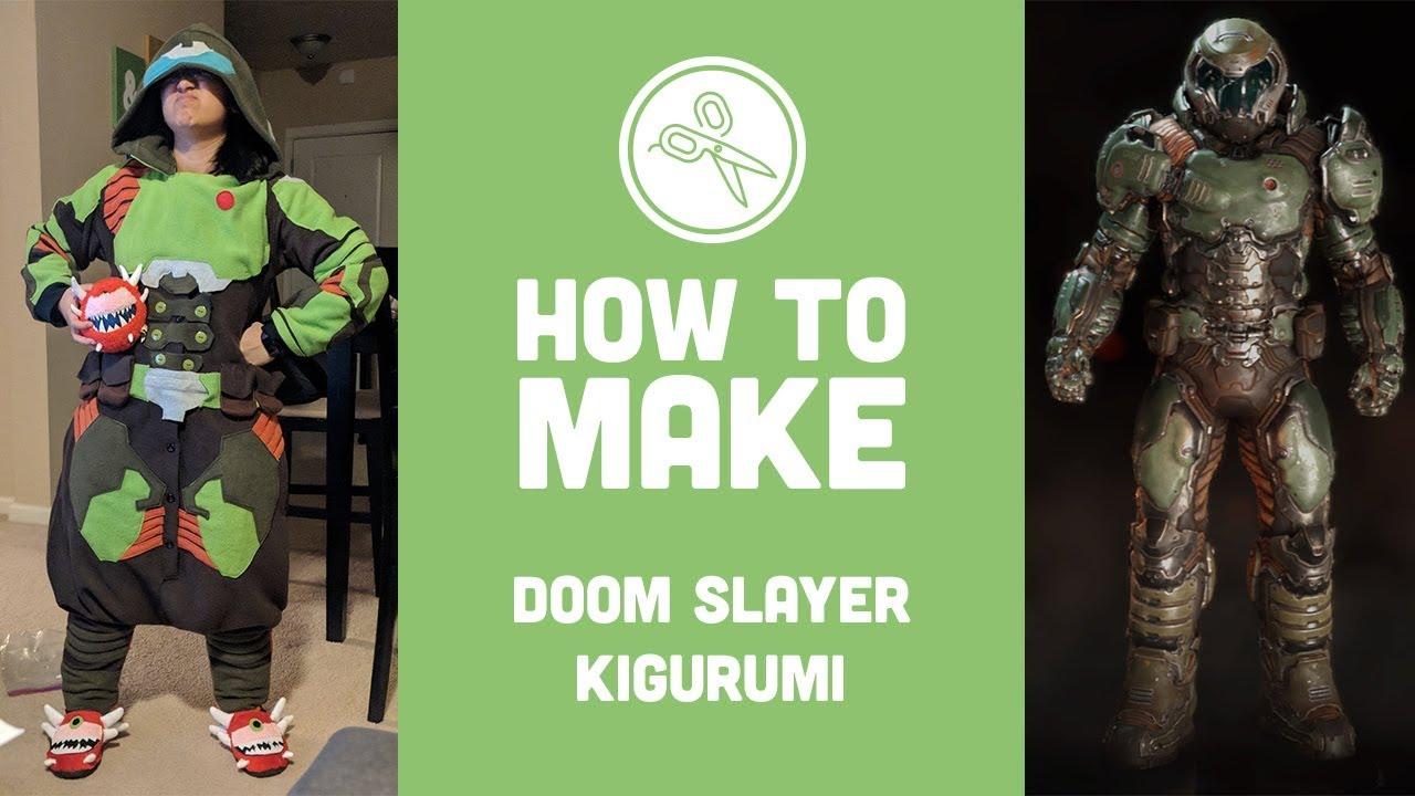How To Make Doom Slayer Kigu Ashweez Cosplay Youtube