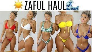 Zaful Bikini HAUL 2018 | TRY ON | Valerie pac