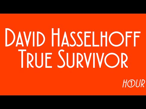 David Hasselhoff - True Survivor [1 HOUR VERSION]