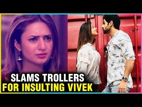 Divyanka Tripathi Gets ANGRY On TROLLERS For INSULTING Vivek Dahiya