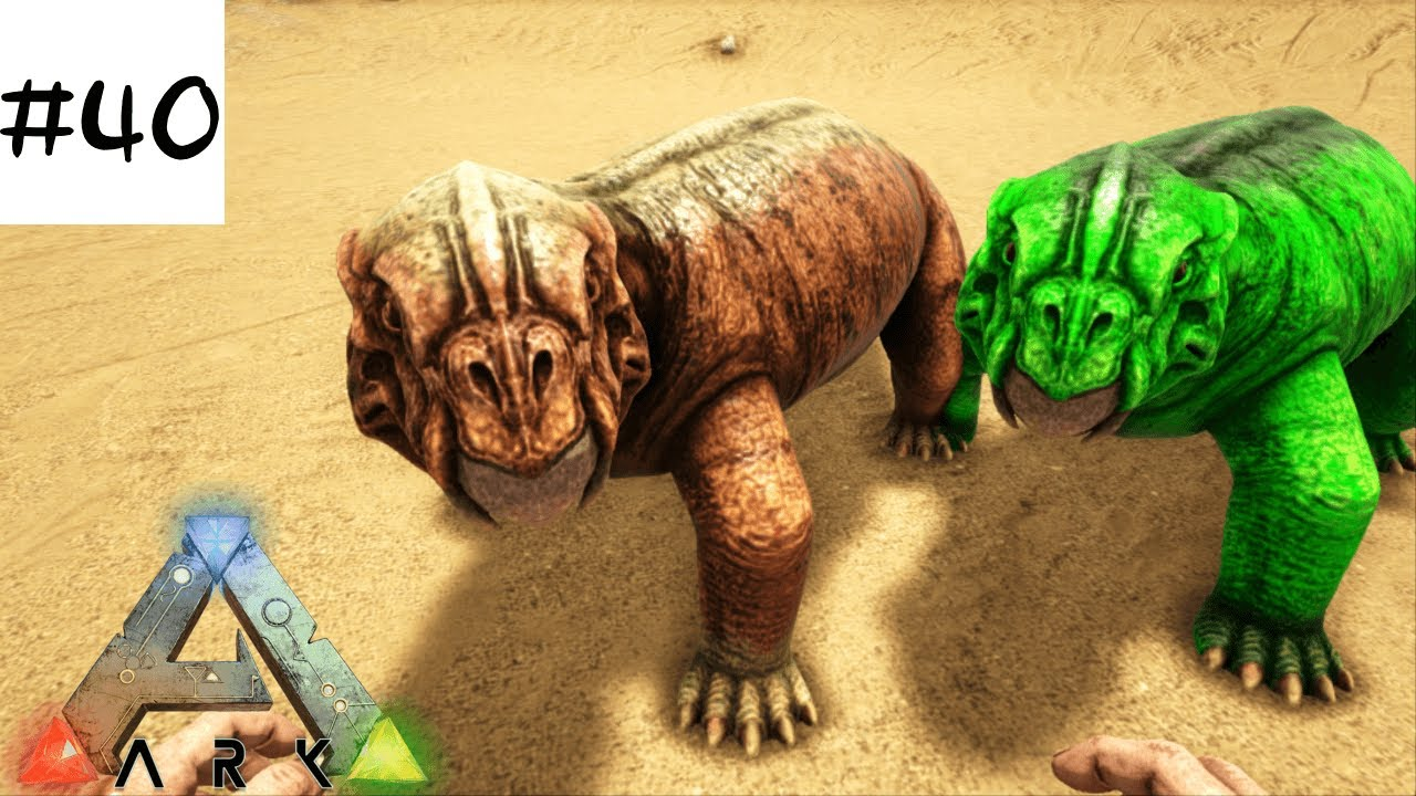 Ark Ps440 テイムpart12 リストロサウルス編ark Survival Evolved