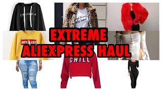 TRY ON HAUL: EXTREME ALIEXPRESS HAUL FALL/WINTER PART 1