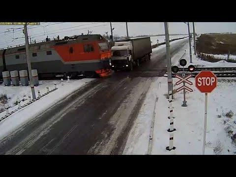 Аварии на железнодорожных переездах.