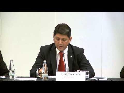 Discursul ministrului Titus Corlăţean la Reuniunea ministrilor SEECP