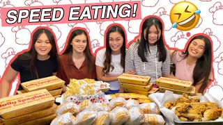 SPEED EATING CHALLENGE by Aira Lopez