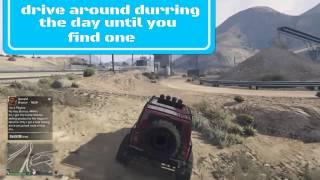 GTAV online dump truck location