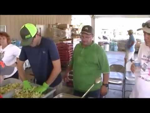 2016 Louisiana Feed... The Serving Line in French Settlement