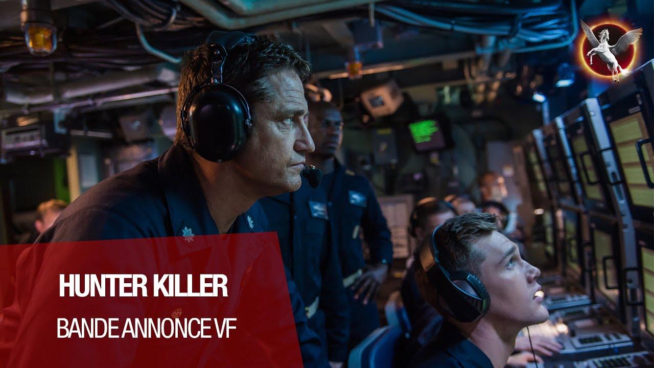 HUNTER KILLER (Gerard Butler, Gary Oldman) - Bande-annonce VF (2018)