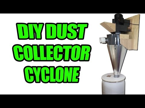 How to Build a Cyclone Separator From a Stock Dust Collector