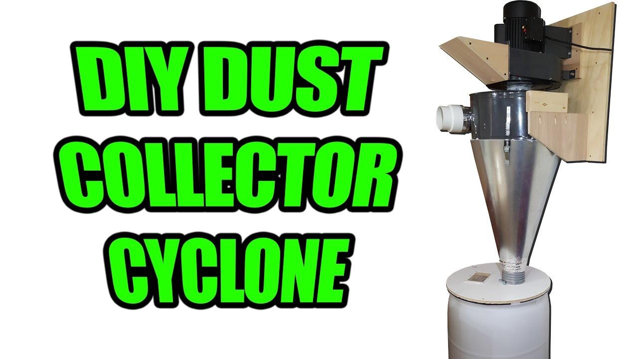 Cyclone dust separator plans