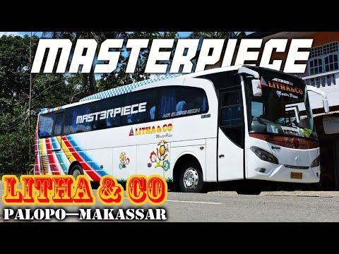 Naik bus LEGEND di Sulawesi, LITHA & CO, perjalanan siang Palopo—Makassar