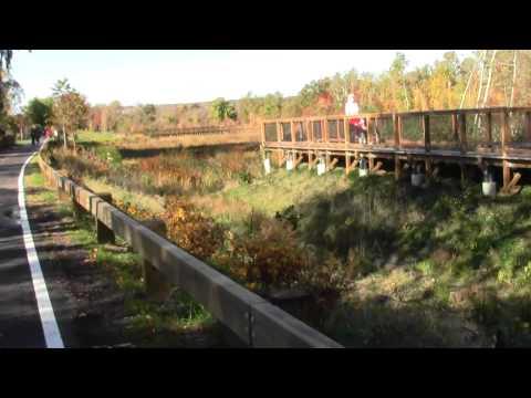 Central Massachusetts Railroad Cambridge MA Alewife Reservation.