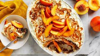 Australian Nectarine and Salted Caramel Tiramisu recipe