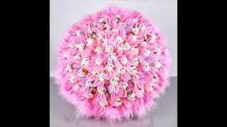 видео Композиции с цветами и мягкими игрушками в подарок. Доставка по Москве и МО