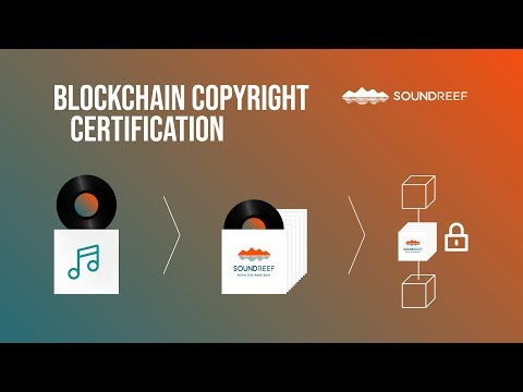 Blockchain Copyright Certification - Soundreef